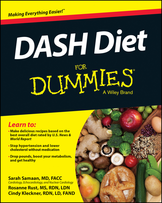 Cynthia Kleckner DASH Diet For Dummies health wrist watch laser for blood irradiation therapy for high blood pressure