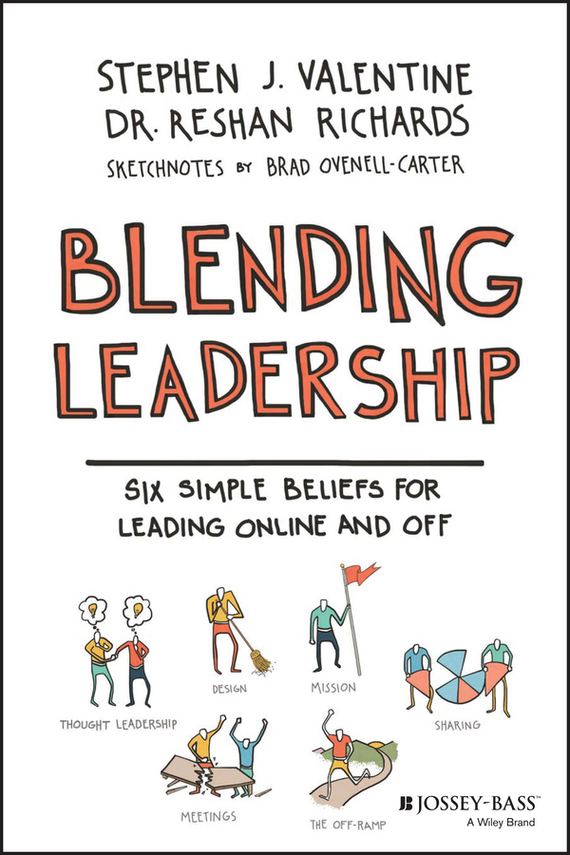 Dr. Ovenell-Carter Brad Blending Leadership. Six Simple Beliefs for Leading Online and Off fiedler new approaches to effective leadership cognitive resources