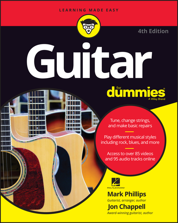 Jon  Chappell Guitar For Dummies jon chappell rock guitar for dummies®