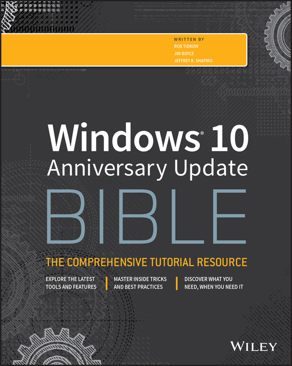 Rob Tidrow Windows 10 Anniversary Update Bible mcclelland photoshop 3 for windows 95 bible
