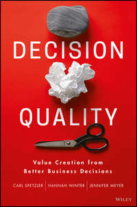 Jennifer  Meyer - Decision Quality. Value Creation from Better Business Decisions