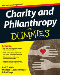 John  Kluge - Charity and Philanthropy For Dummies