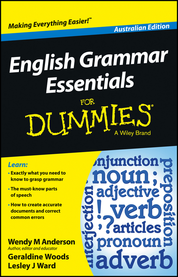Geraldine  Woods English Grammar Essentials For Dummies - Australia dirk zeller success as a real estate agent for dummies australia nz