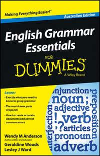 Geraldine  Woods - English Grammar Essentials For Dummies - Australia