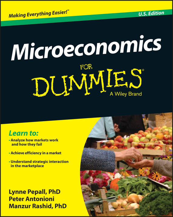 Peter  Antonioni Microeconomics For Dummies 55 175 jtc 1731
