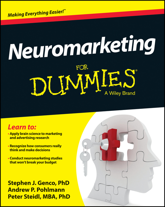 Peter  Steidl Neuromarketing For Dummies michael hyman marketing research kit for dummies