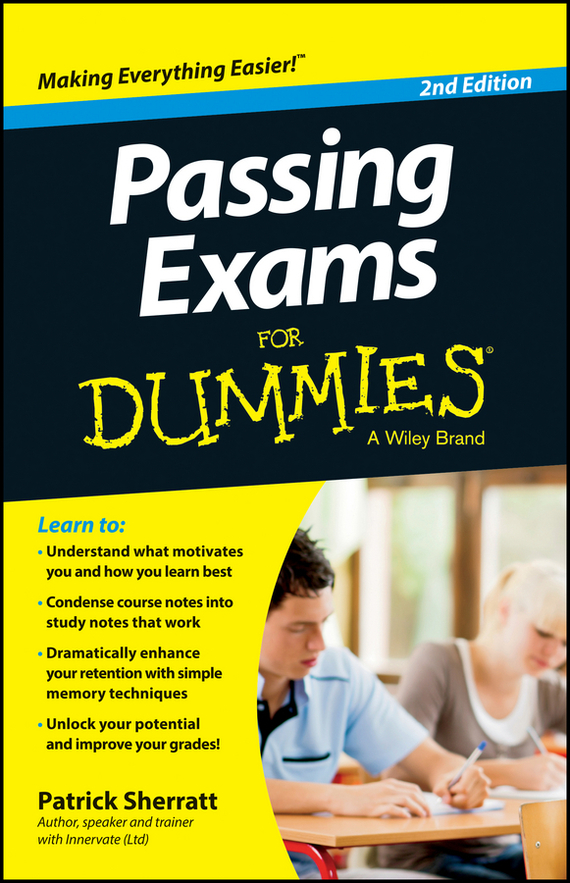 Patrick Sherratt Passing Exams For Dummies ISBN: 9780730304449 brain food how to eat smart and sharpen your mind