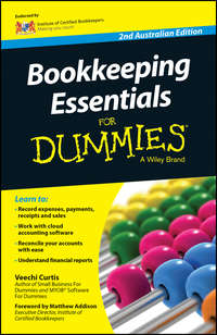 Veechi  Curtis - Bookkeeping Essentials For Dummies - Australia