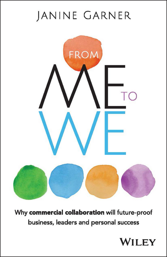 Janine Garner From Me to We. Why Commercial Collaboration Will Future-proof Business, Leaders and Personal Success ISBN: 9780730318514 eric lowitt the collaboration economy how to meet business social and environmental needs and gain competitive advantage