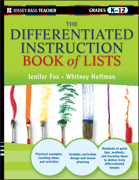 Jenifer  Fox The Differentiated Instruction Book of Lists erin muschla teaching the common core math standards with hands on activities grades k 2