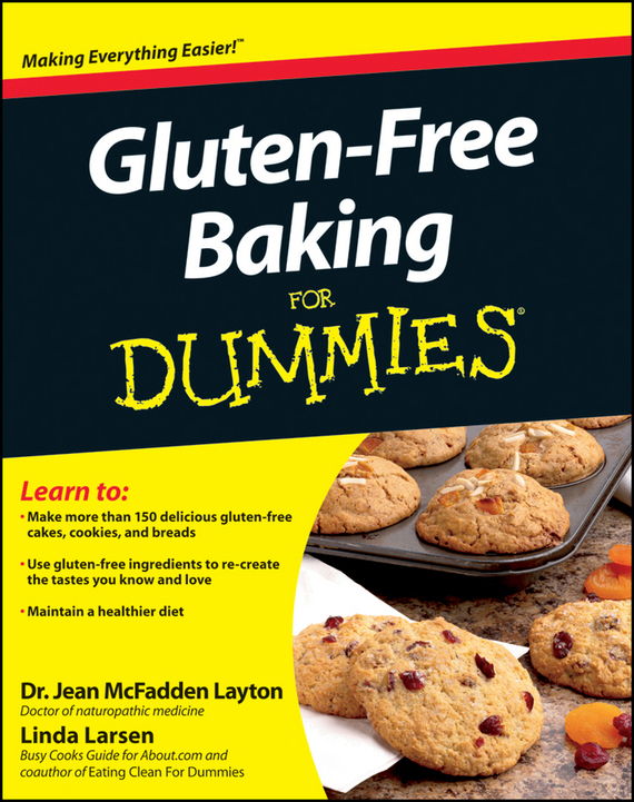 LInda Larsen Gluten-Free Baking For Dummies secrets of fat free baking