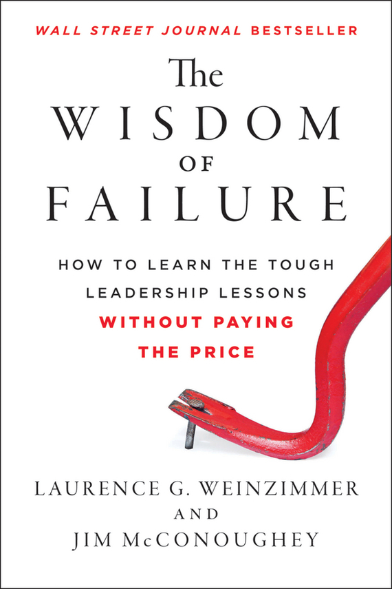 Jim McConoughey The Wisdom of Failure. How to Learn the Tough Leadership Lessons Without Paying the Price duncan bruce the dream cafe lessons in the art of radical innovation