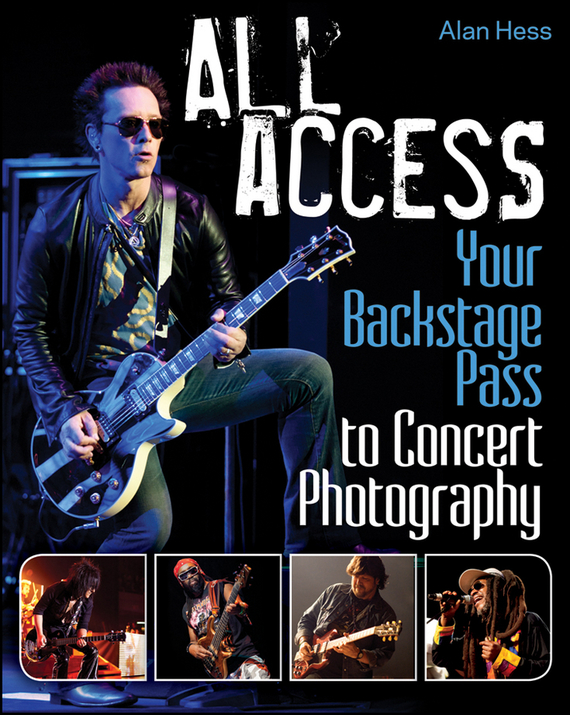 Alan  Hess All Access. Your Backstage Pass to Concert Photography alan hess ipad fully loaded