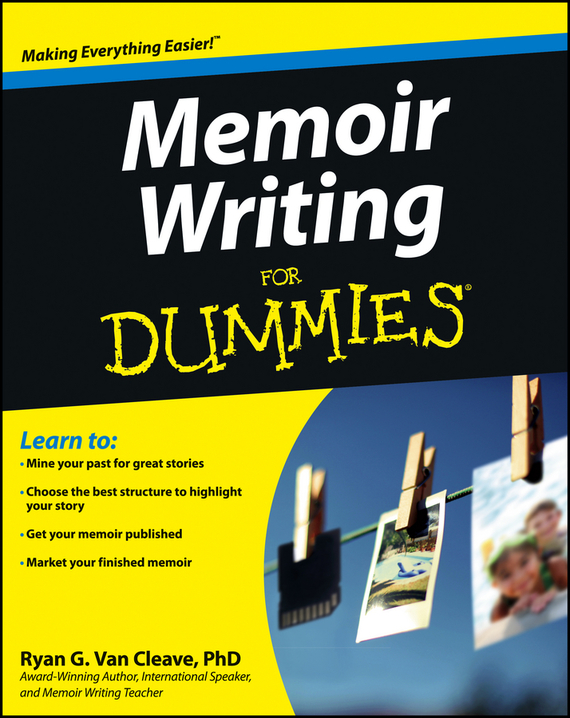 Ryan Cleave Van Memoir Writing For Dummies