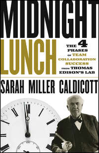 Sarah Caldicott Miller - Midnight Lunch. The 4 Phases of Team Collaboration Success from Thomas Edison's Lab