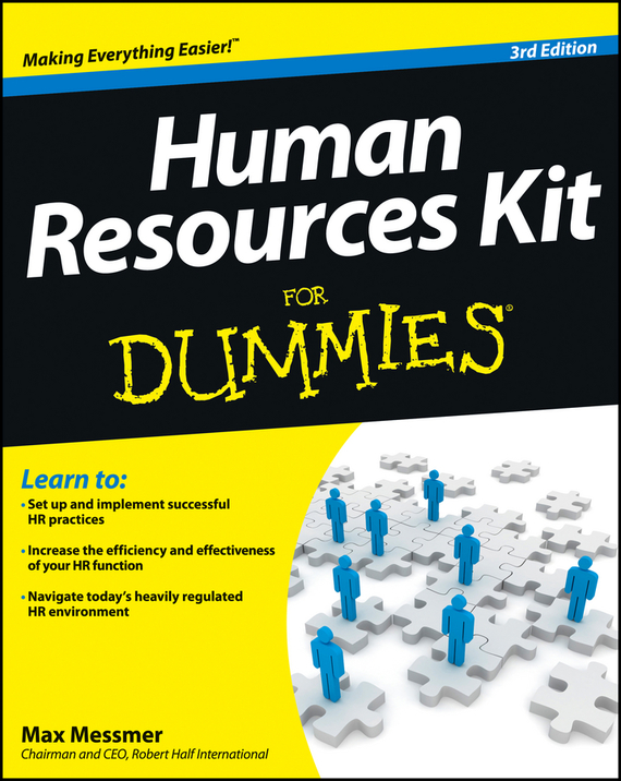 Max Messmer Human Resources Kit For Dummies human resources kit for dummies®