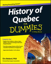 B?dard ?ric - History of Quebec For Dummies