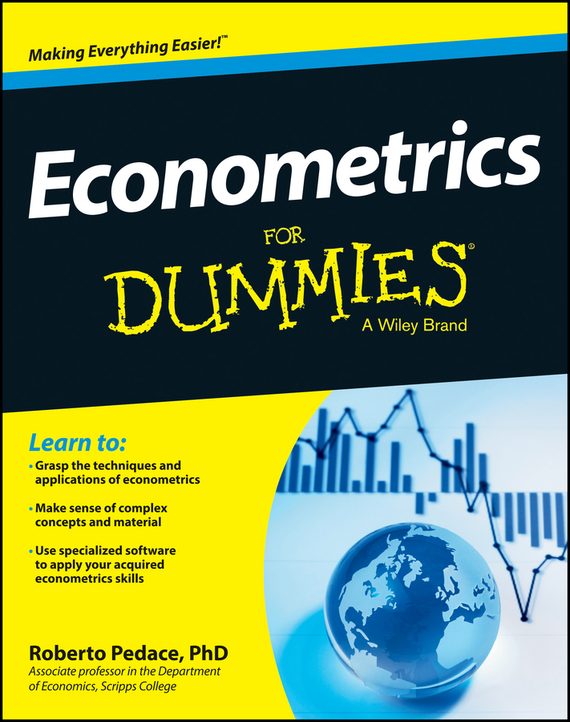 Roberto Pedace Econometrics For Dummies ISBN: 9781118533888