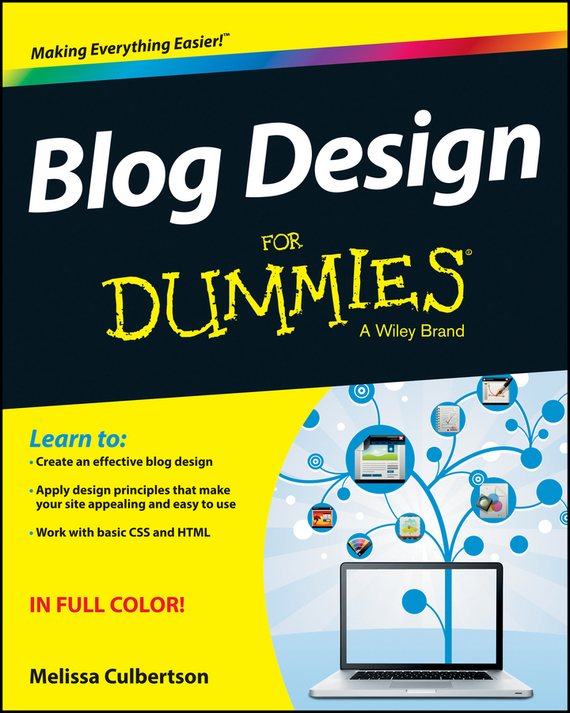 Melissa  Culbertson Blog Design For Dummies инвентарь для турпоходов blog tour pe007
