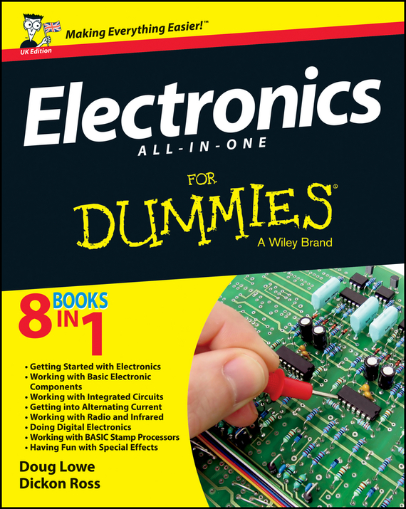 Doug  Lowe Electronics All-in-One For Dummies - UK бордюр kerama marazzi камея pz09 4178 13x40 2
