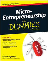 Paul  Mladjenovic - Micro-Entrepreneurship For Dummies