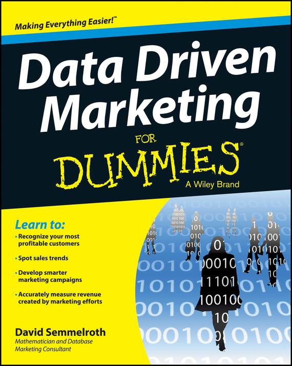 David Semmelroth Data Driven Marketing For Dummies mark jeffery data driven marketing the 15 metrics everyone in marketing should know