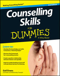 Gail  Evans - Counselling Skills For Dummies