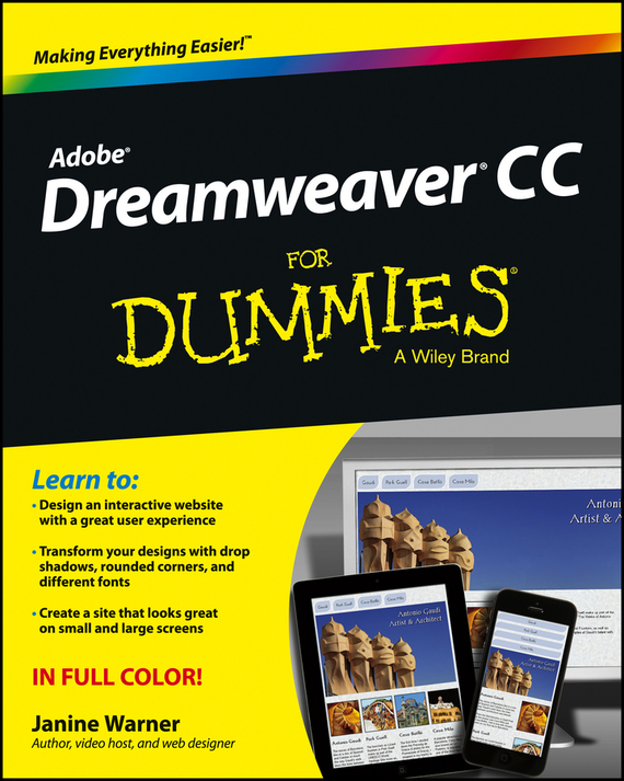 Janine Warner Dreamweaver CC For Dummies bud smith e creating web pages for dummies
