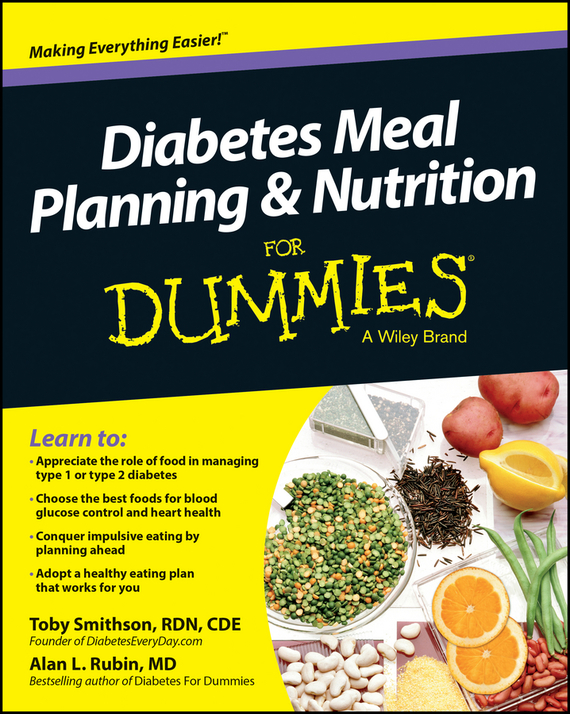 Toby  Smithson Diabetes Meal Planning and Nutrition For Dummies rene kratz fester biology workbook for dummies
