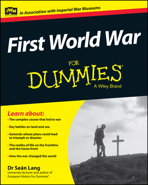 Sean Lang First World War For Dummies ISBN: 9781118679968 poetry of the first world war