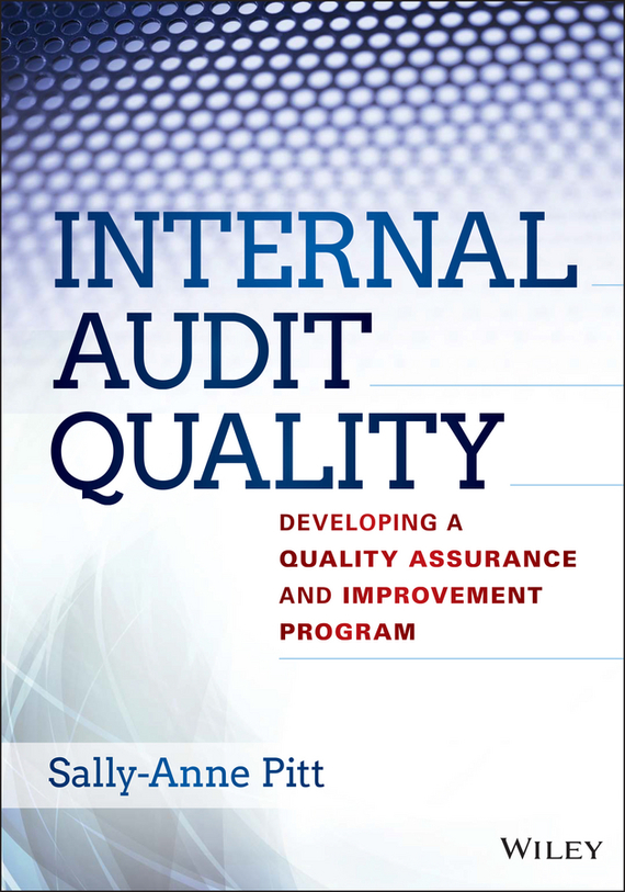 Фото Sally-Anne Pitt Internal Audit Quality. Developing a Quality Assurance and Improvement Program