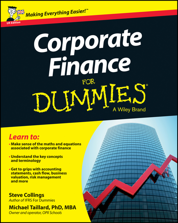 Steven  Collings Corporate Finance For Dummies - UK tony martin personal finance for canadians for dummies