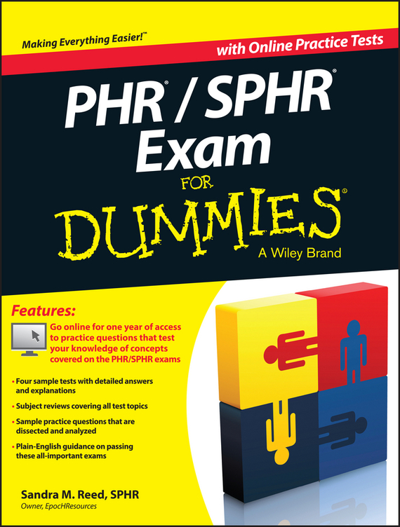 Sandra Reed M. PHR / SPHR Exam For Dummies human resources kit for dummies®