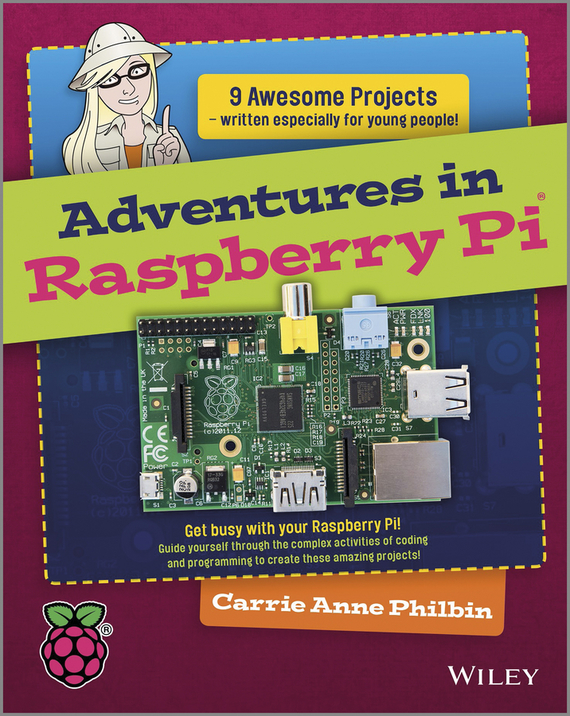 Carrie Philbin Anne Adventures In Raspberry Pi raspberry pi 3 model b starter kit rpi 3 16g sd card acrylic case fan 5v 2 5a power adapter heat sink hdmi cable