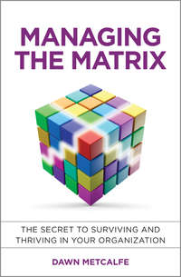 Dawn  Metcalfe - Managing the Matrix. The Secret to Surviving and Thriving in Your Organization