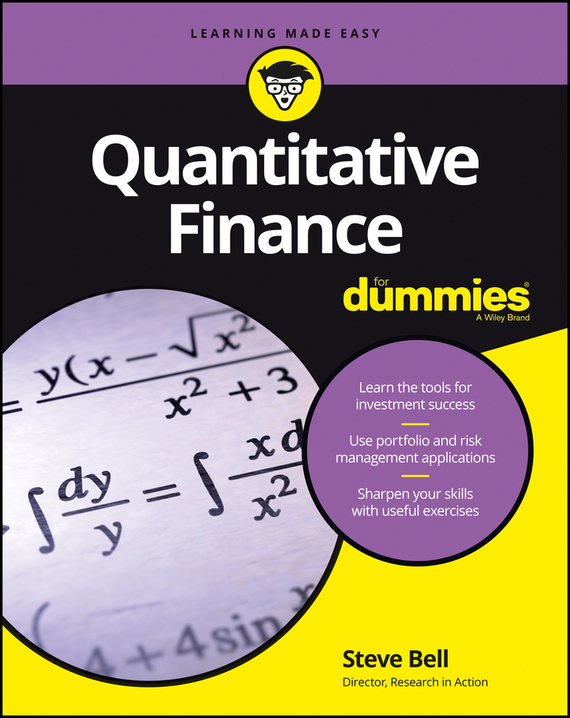 Steve  Bell Quantitative Finance For Dummies new 1pcs electric guitar pickguard strat st yellow style 3 ply hsh a62