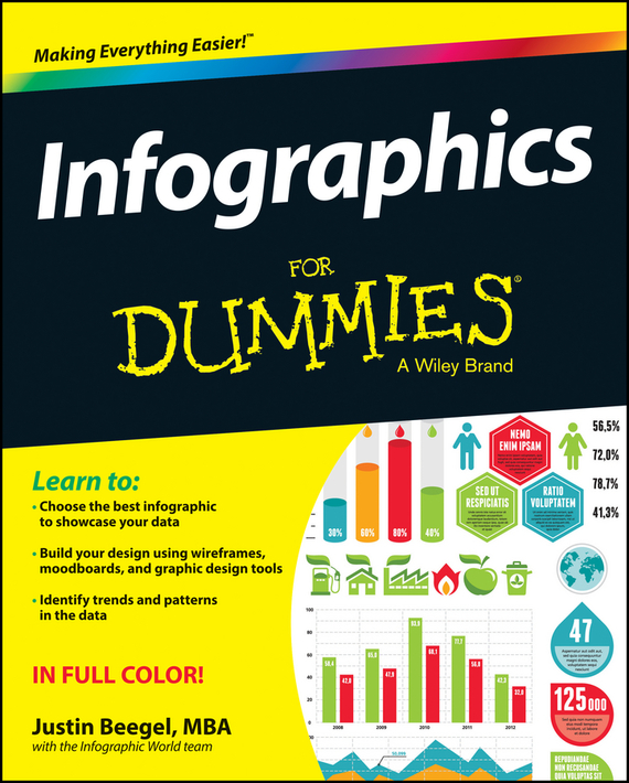 Justin MBA BeegelThe Infographic World Team Infographics For Dummies иберогаст капли для приема внутрь 100 мл
