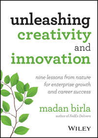 Madan  Birla - Unleashing Creativity and Innovation. Nine Lessons from Nature for Enterprise Growth and Career Success
