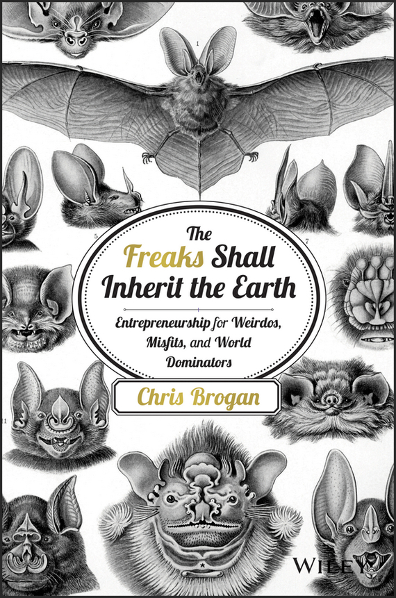 Chris  Brogan The Freaks Shall Inherit the Earth. Entrepreneurship for Weirdos, Misfits, and World Dominators journey to the center of the earth