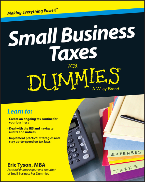 Eric  Tyson Small Business Taxes For Dummies