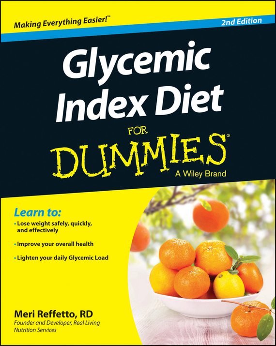 Meri  Reffetto Glycemic Index Diet For Dummies cynthia kleckner dash diet for dummies