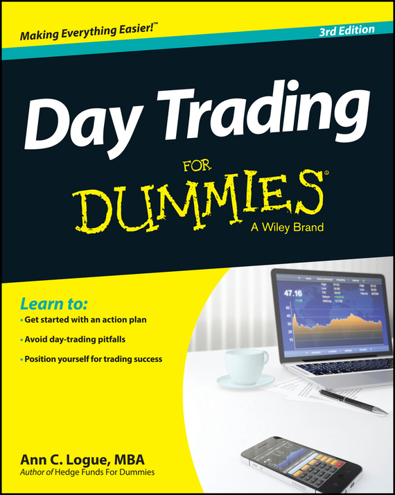 Ann C. Logue Day Trading For Dummies, цена и фото