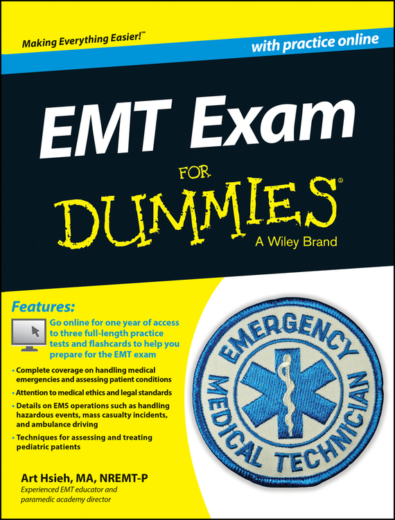 Arthur Hsieh EMT Exam For Dummies with Online Practice uni t ut139a true rms digital multimeter auto manual range ac dc amp volts ohm tester with data hold ncv and battery test