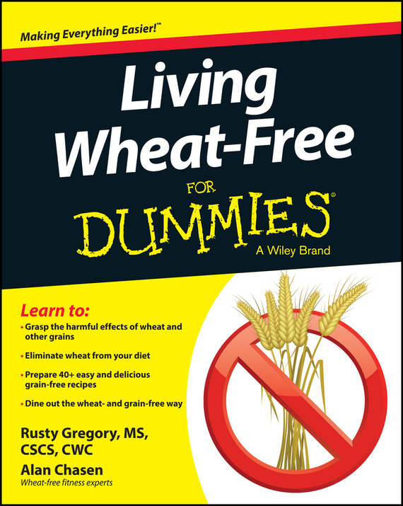 Rusty Gregory Living Wheat-Free For Dummies free shipping 10pcs stm4605 new