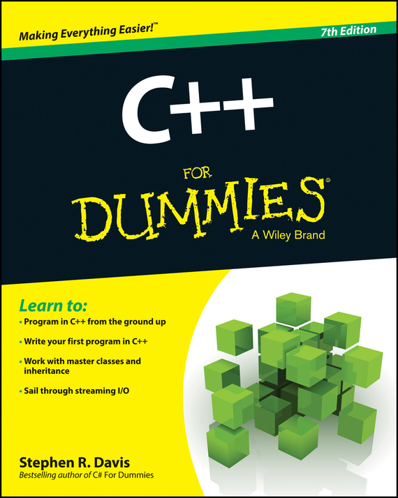 Stephen Davis R. C++ For Dummies stephen davis r beginning programming with c for dummies