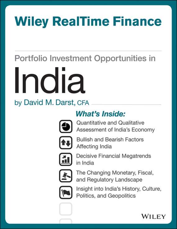 David M. Darst Portfolio Investment Opportunities in India barbara weber infrastructure as an asset class investment strategies project finance and ppp