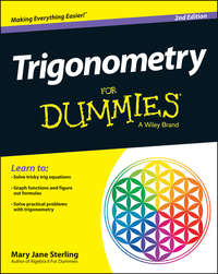 Mary Jane Sterling - Trigonometry For Dummies