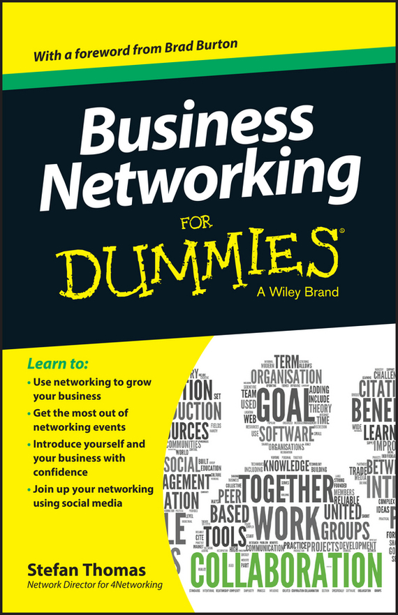 Stefan Thomas Business Networking For Dummies business networking for dummies