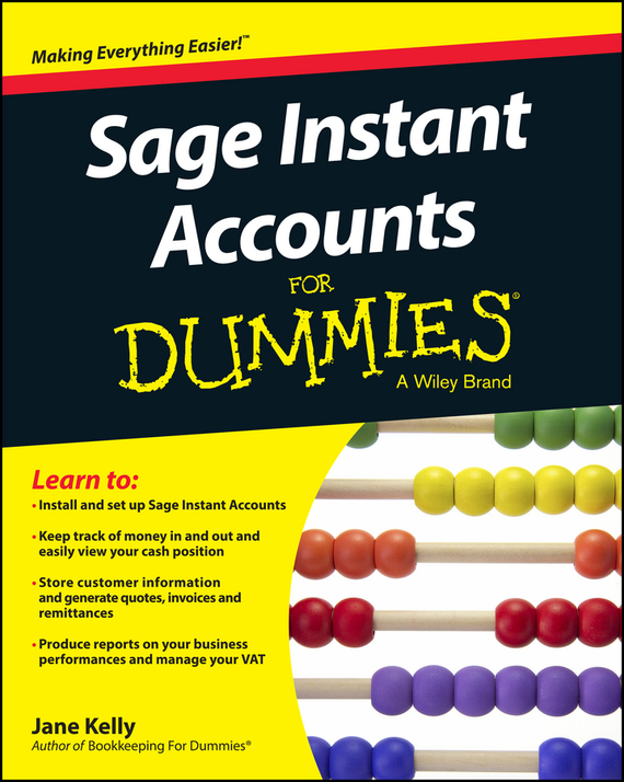 Jane Kelly E. Sage Instant Accounts For Dummies сучкорез green apple gtbl12 007