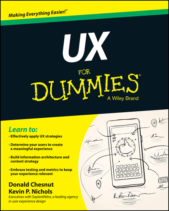 Donald Chesnut UX For Dummies web user clustering and surfing recommendation